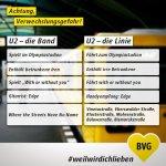 U2: Achtung, Verwechslungsgefahr!
