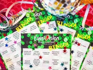 ESC 2018: Bingo zum Ausdrucken