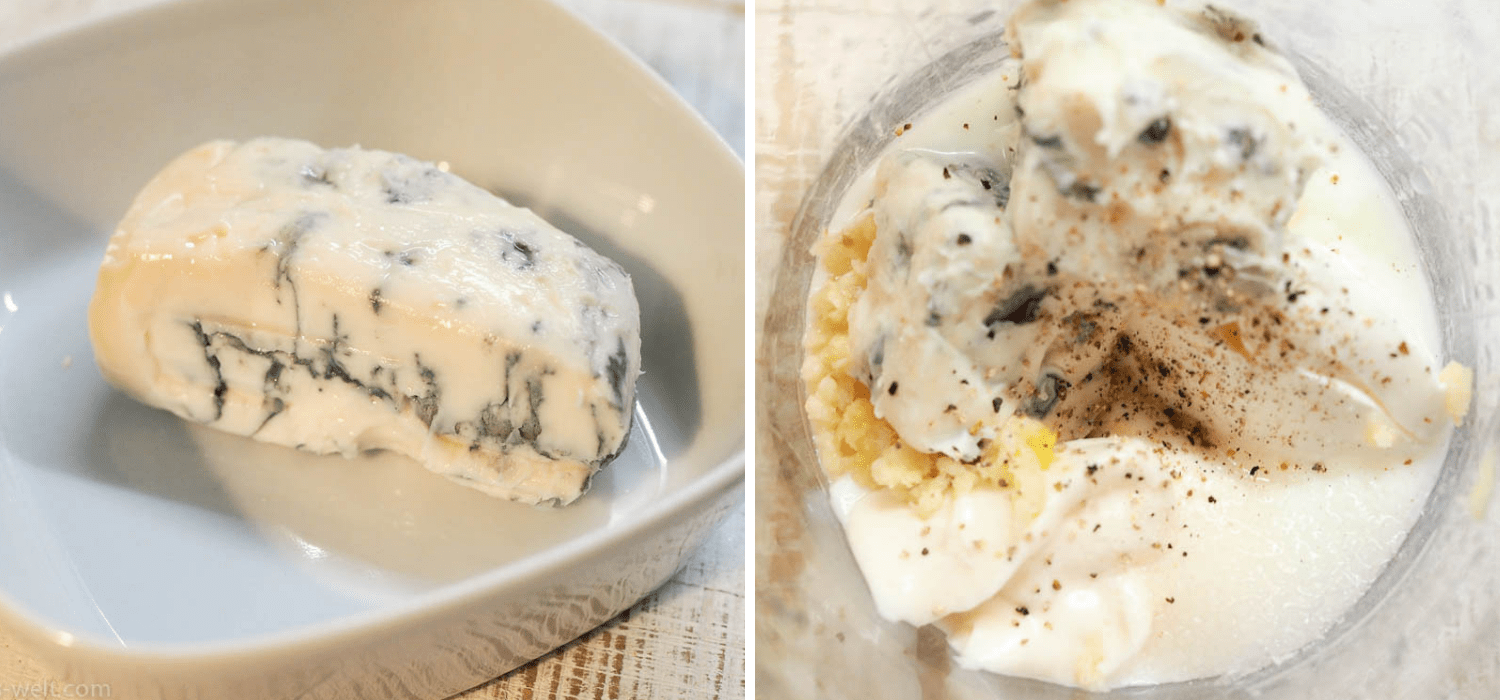 Cremiger Blue Cheese Dip