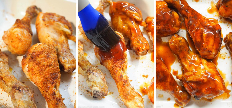 Saftiges Honig-BBQ-Hähnchen