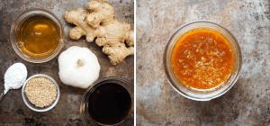 Honig-Ingwer-Wok-Sauce