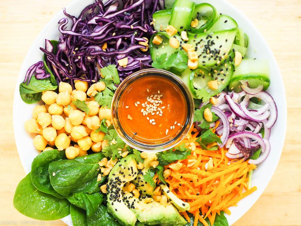 Thai-Curry-Salat