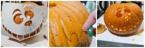 DIY: Halloween-Kürbis schnitzen