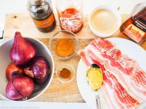 Bacon-Marmelade mit Kaffee