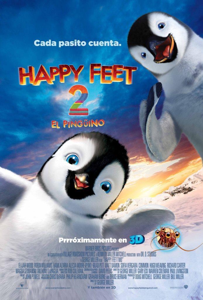 Happy Feet 2: El pingüino (2011) HD 1080p Latino