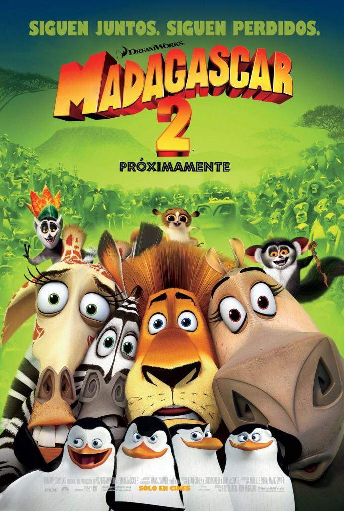 Madagascar 2: Escape África (2008) HD 1080p Latino
