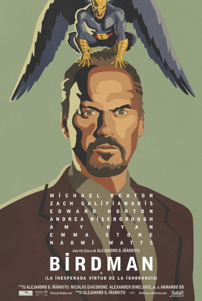 Birdman o (La inesperada virtud de la ignorancia) (2014) HD 1080p Latino