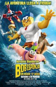Bob Esponja: Un héroe fuera del agua (2015) HD 1080p Latino
