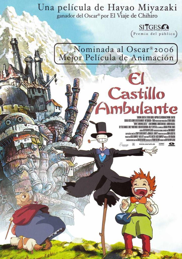 El castillo ambulante (2004) HD 1080p Latino