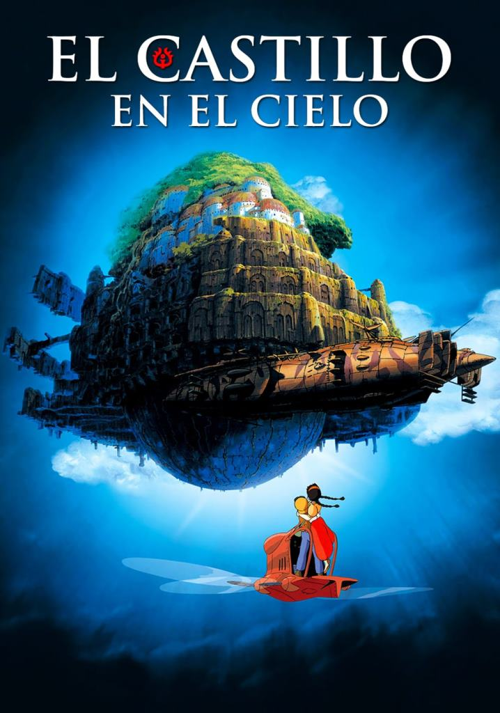 El castillo en el cielo (1986) HD 1080p Latino