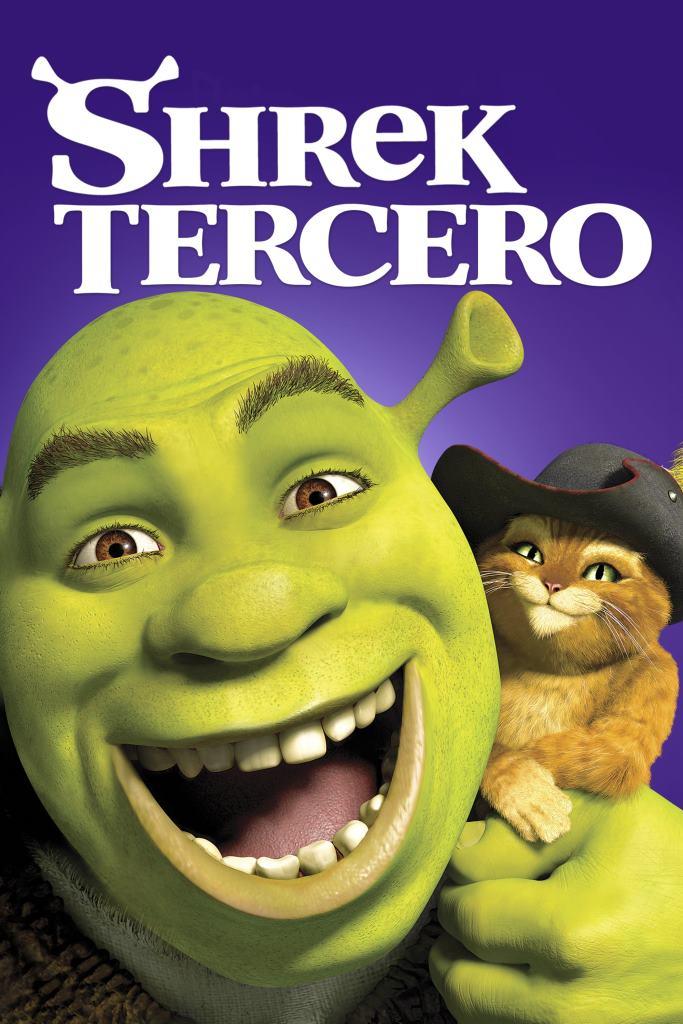 Shrek tercero (2007) HD 1080p Latino