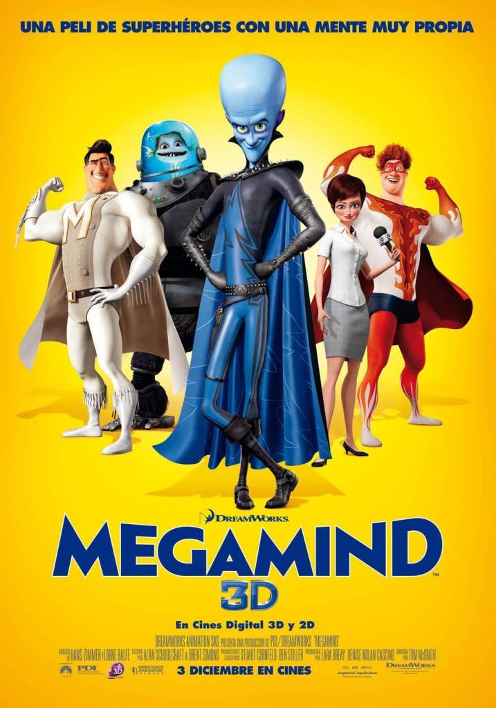 Megamente (2010) HD 1080p Latino