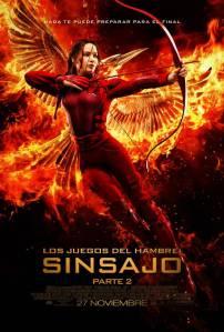 Los juegos del hambre: Sinsajo. Parte 2 (2015) HD 1080p Latino