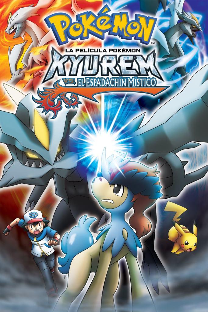Pokémon 15: Kyurem contra el Espadachín Místico (2012) DVD-Rip Latino