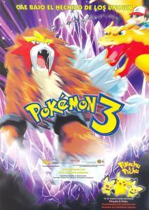 Pokémon 3: El hechizo de los unown (2000) DVD-Rip Latino