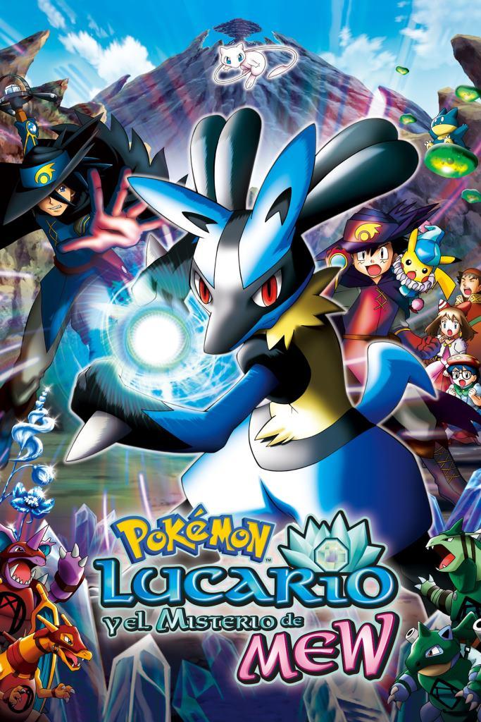 Pokémon 8: Lucario y el misterio de Mew (2005) DVD-Rip Latino