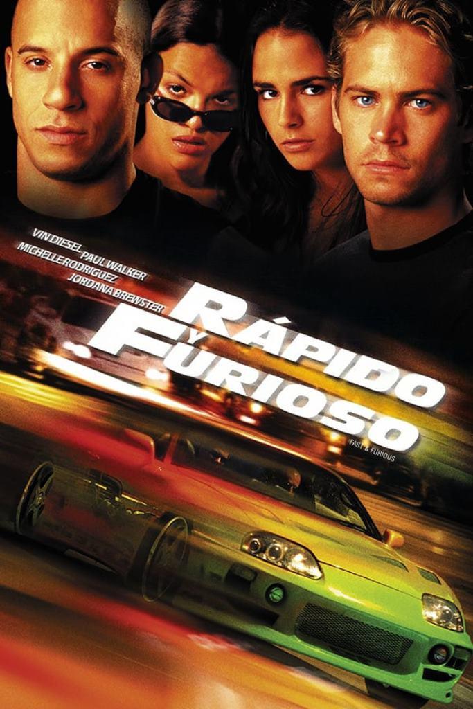 Rápidos y Furiosos (2001) HD 1080p Latino