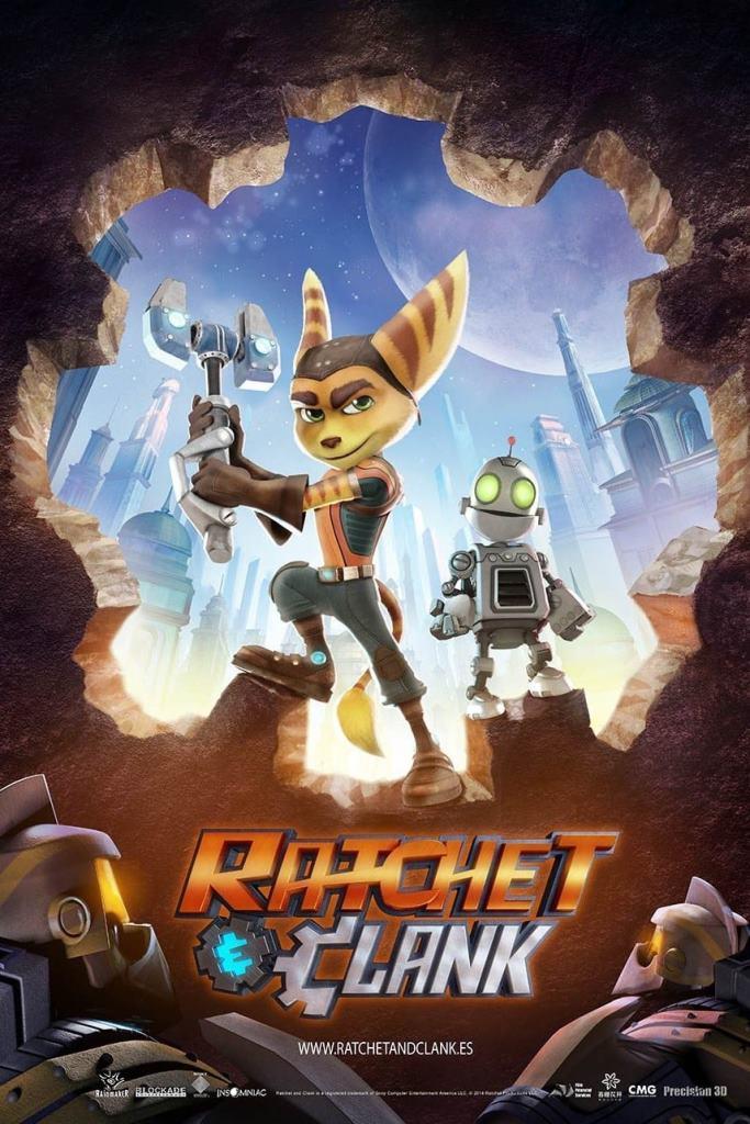 Ratchet y Clank, la película (2016) HD 1080p Latino