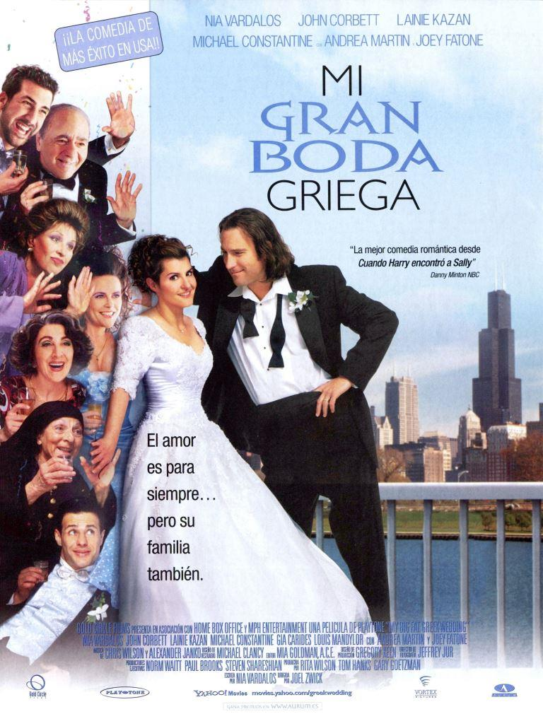 Mi gran boda griega (2002) HD 1080p Latino