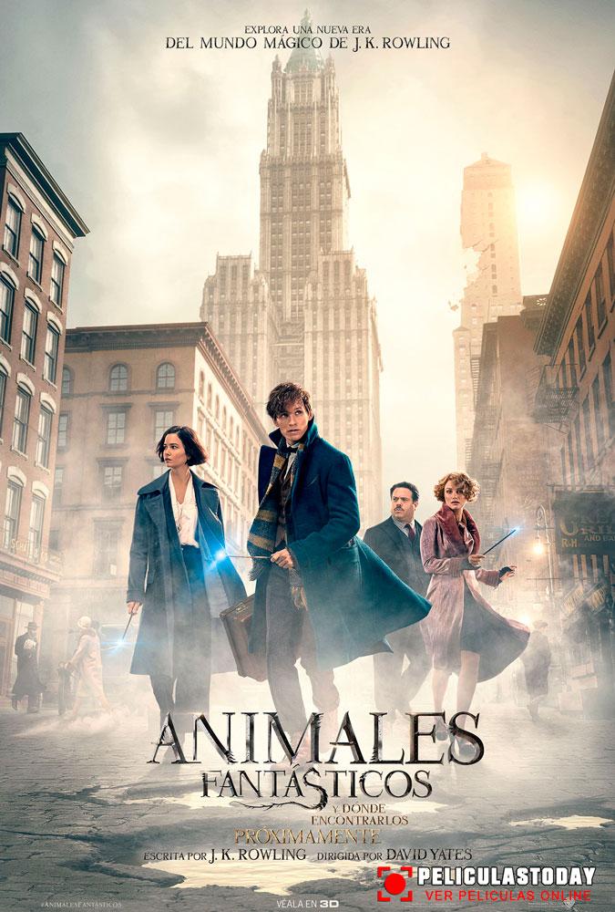 Animales fantásticos y dónde encontrarlos (2016) HD 1080p Latino