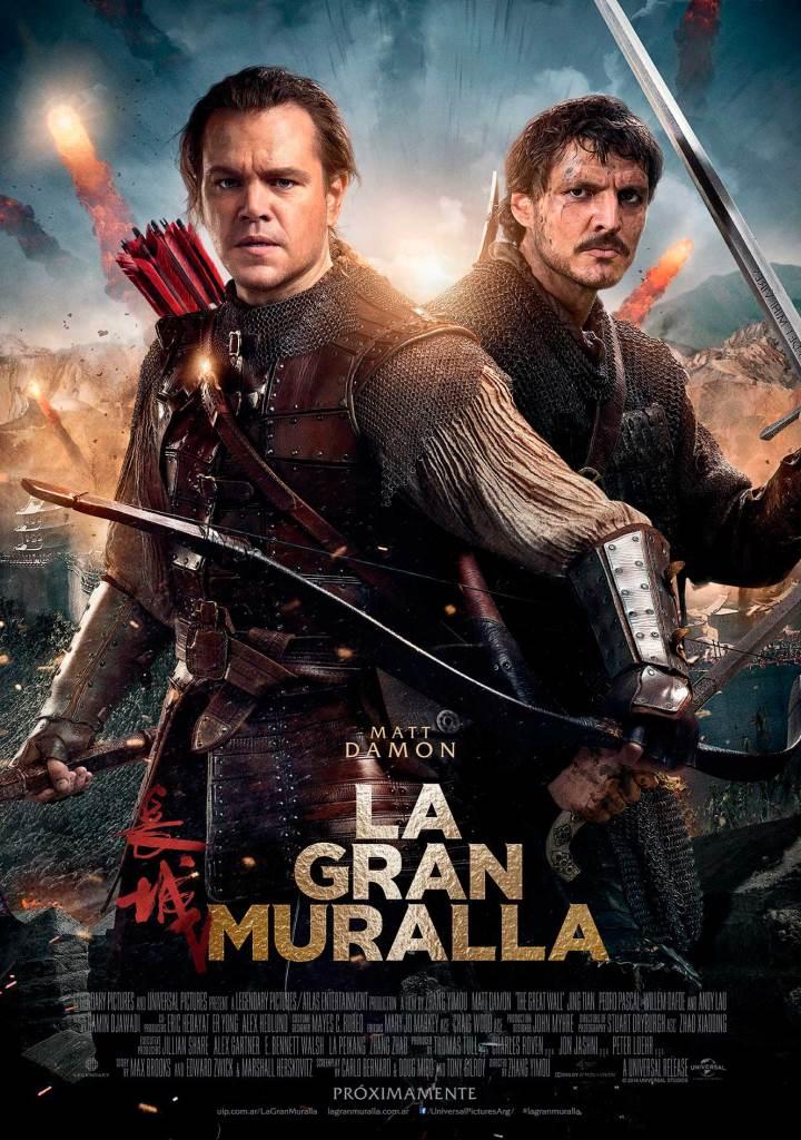 La gran muralla (2016) HD 1080p Latino