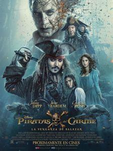 Piratas del Caribe 5: La venganza de Salazar (2017) HD 1080p Latino