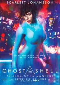 Ghost in the Shell: El alma de la máquina (2017) HD 1080p Latino