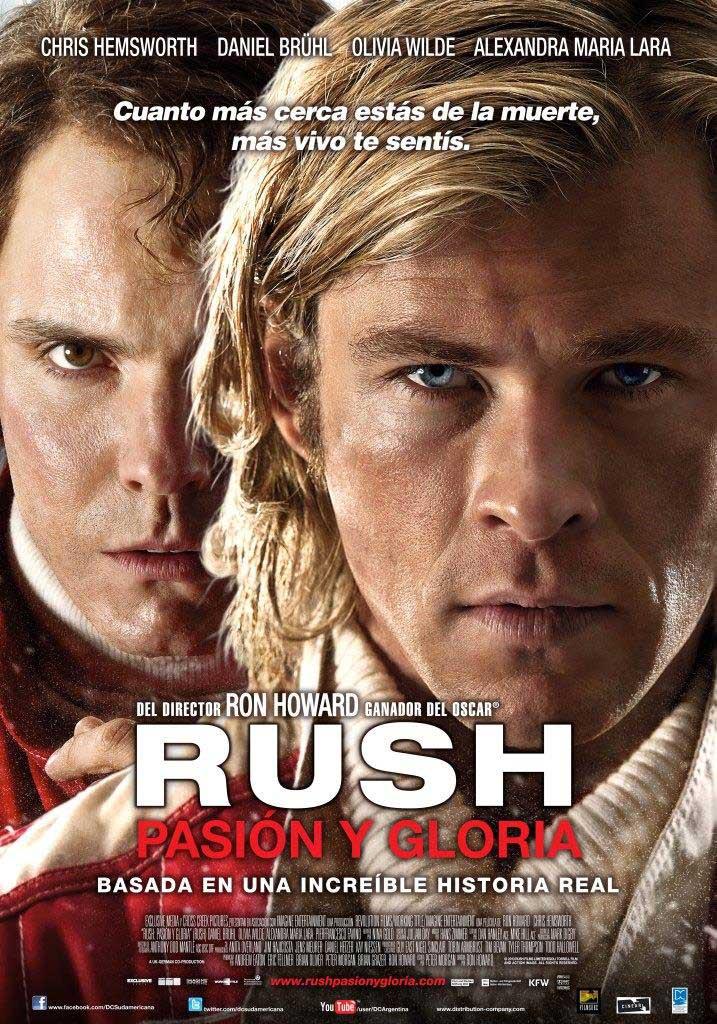 Rush: pasión y gloria (2013) HD 1080p Latino