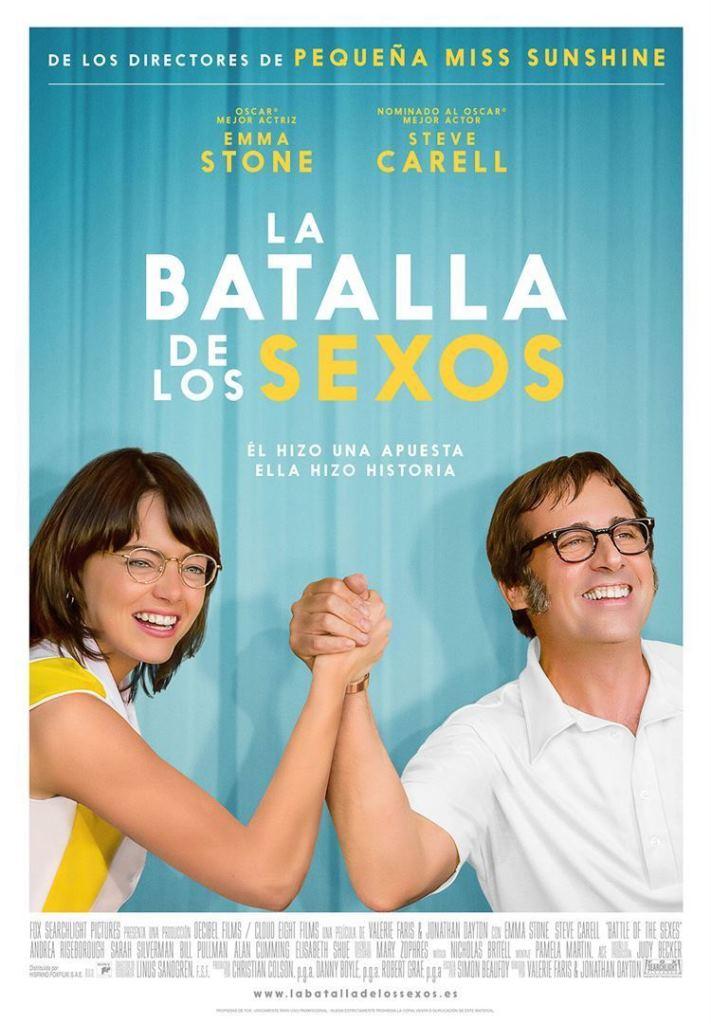 La batalla de los sexos (2017) HD 1080p Latino