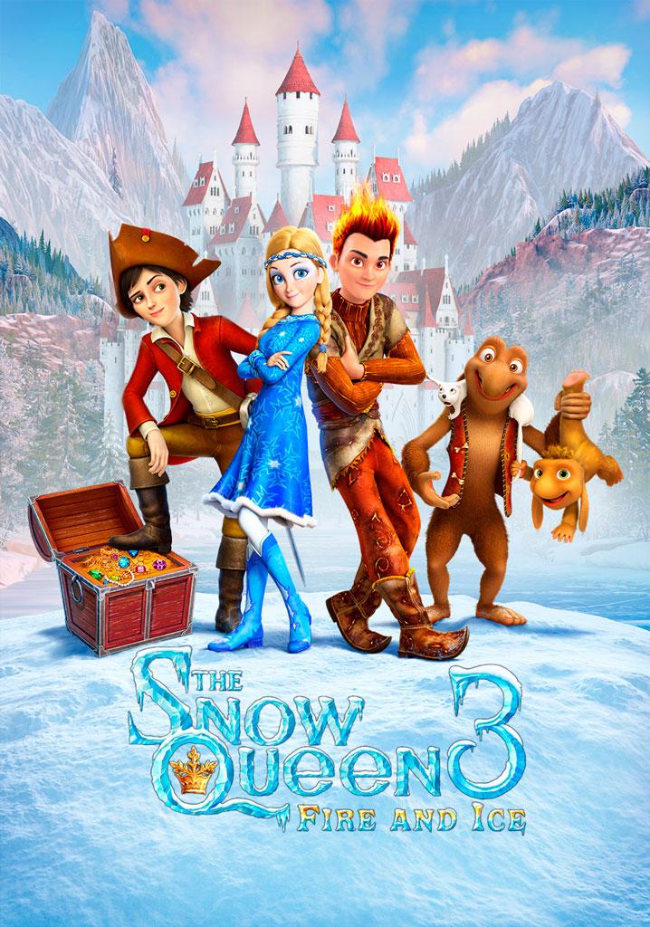 La reina de las nieves 3 (2016) HD 1080p Latino