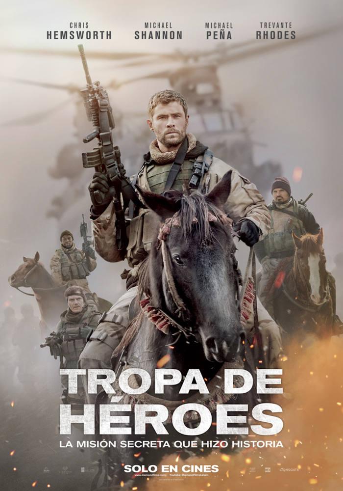 Tropa de Héroes (2018) HD 1080p Latino