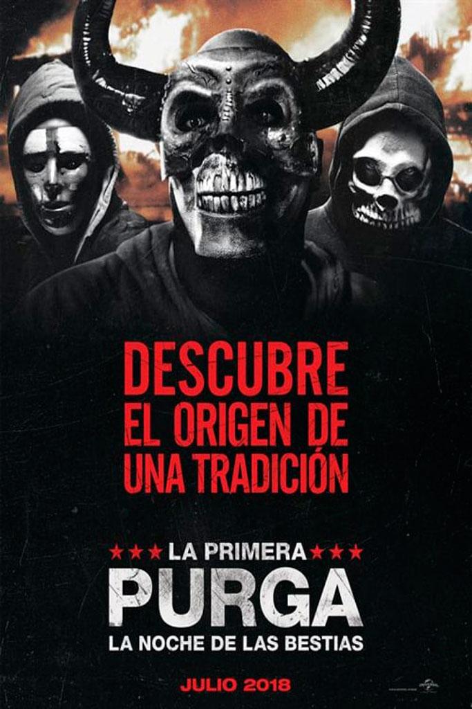 La primera purga: La noche de las bestias (2018) HD 1080p Latino