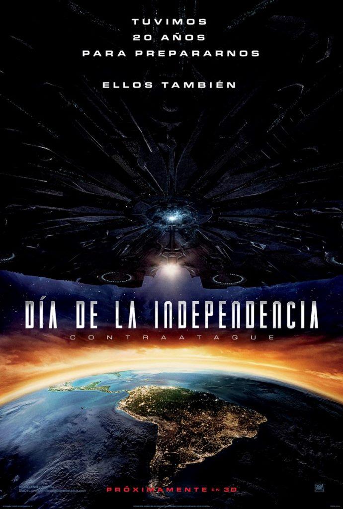 Día de la Independencia: Contraataque (2016) HD 1080p Latino