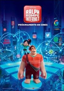 Ralph rompe Internet (2018) HD 1080p Latino