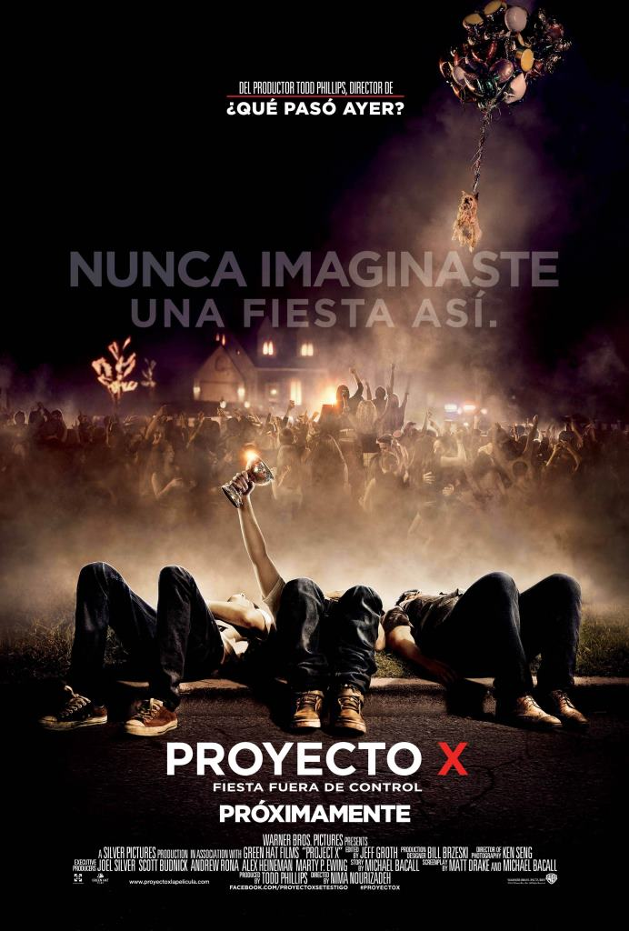Proyecto X (2012) HD 1080p Latino