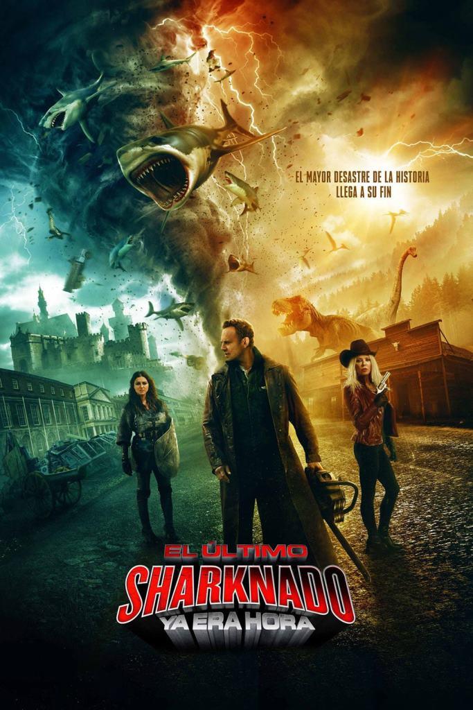 El último Sharknado 6: Ya era hora (2018) HD 1080p Latino