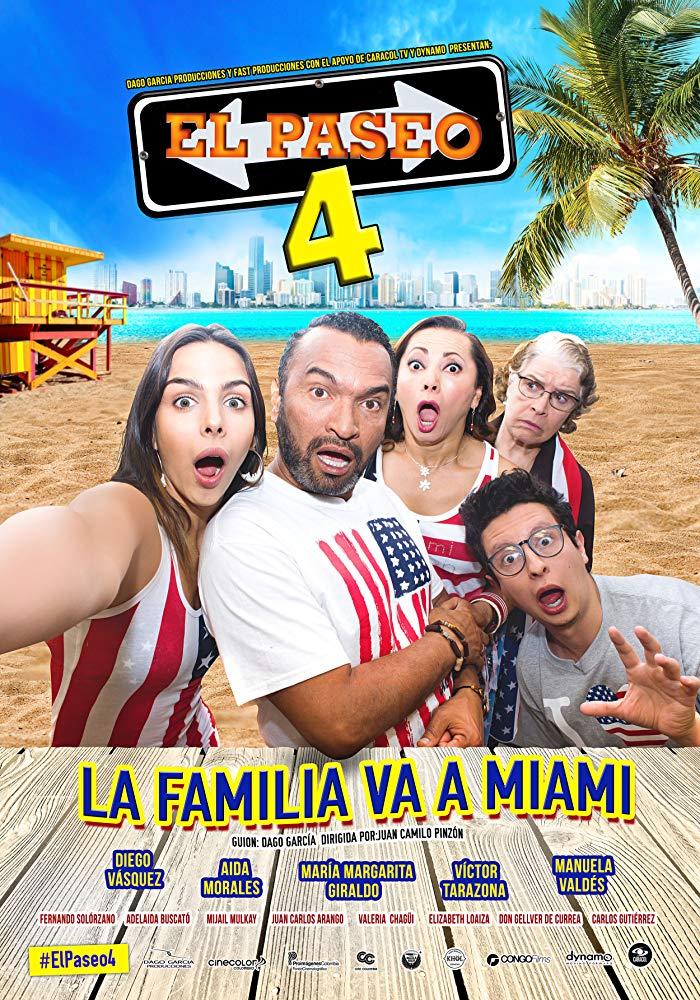 El paseo 4 (2017) HD 720p Latino