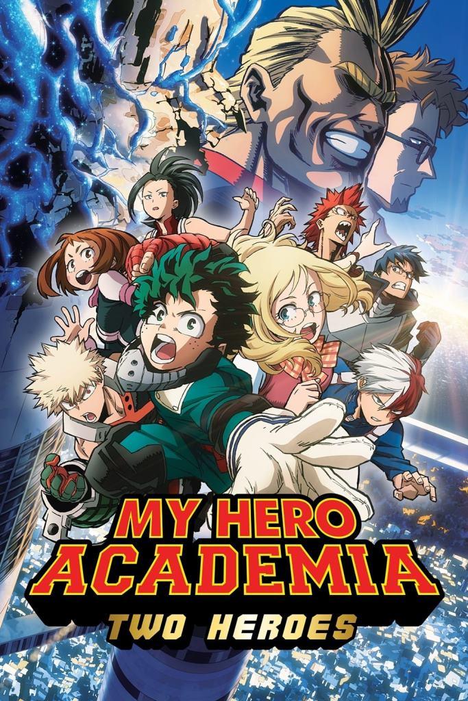 My Hero Academia: Two Heroes La Película (2018) HD 1080p Latino
