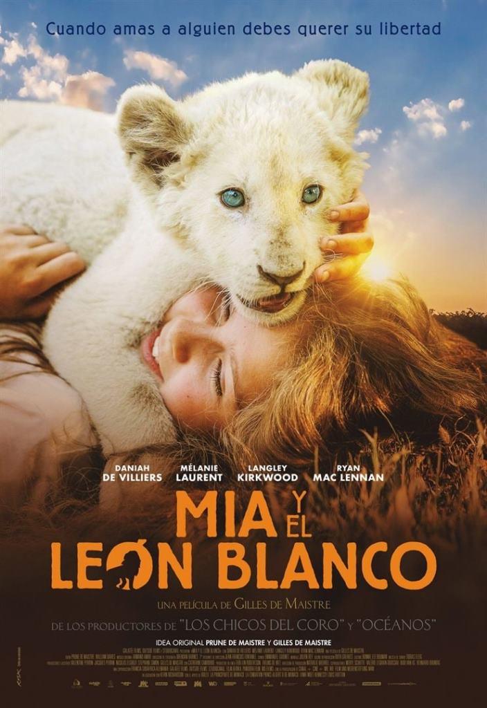 Mia y el león blanco (2018) HD 1080p Latino
