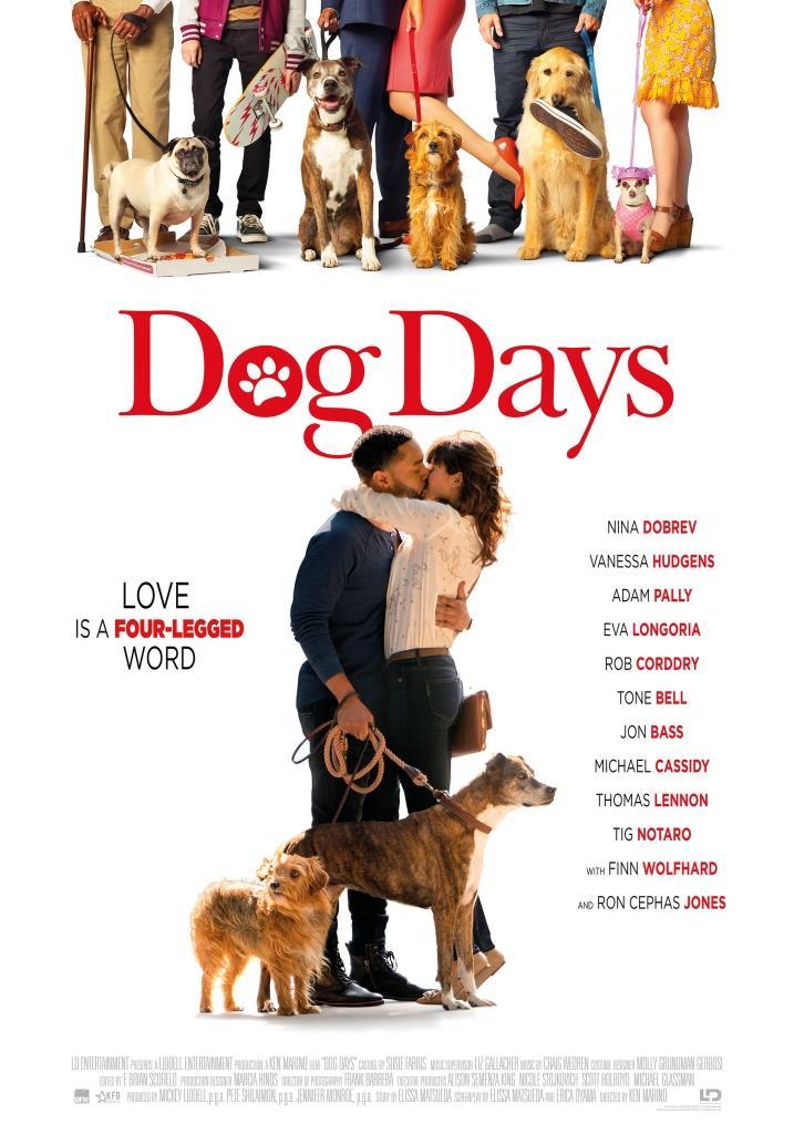 Dog Days (2018) BRRip 1080p Latino