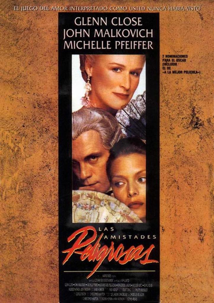 Relaciones peligrosas (1988) HD 1080p Latino