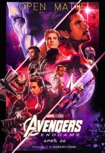 Avengers Endgame (2019) OPEN MATTE HD 1080p Latino