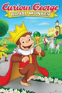 Curious George: Royal Monkey (2019) HD 1080p Latino
