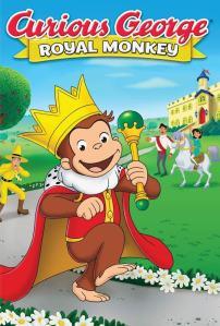 Curious George: Royal Monkey (2019) HD 1080p Latino