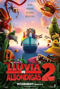 Lluvia de albóndigas 2 (2013) HD 1080p Latino