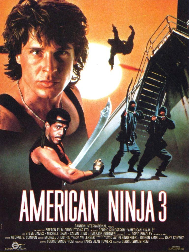 Ninja Americano 3 (1989) HD 1080p Latino