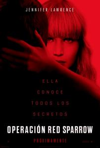 Operación Red Sparrow (2018) HD 1080p Latino