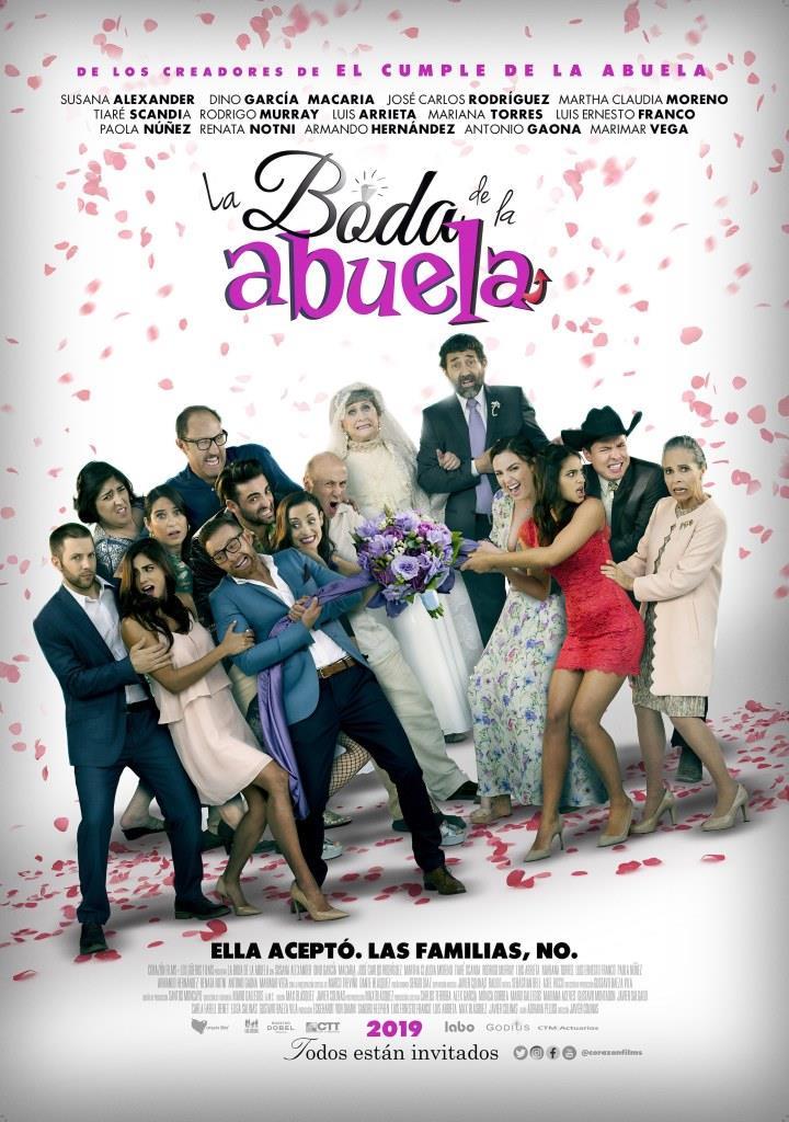 La boda de la abuela (2019) HD 1080p Latino