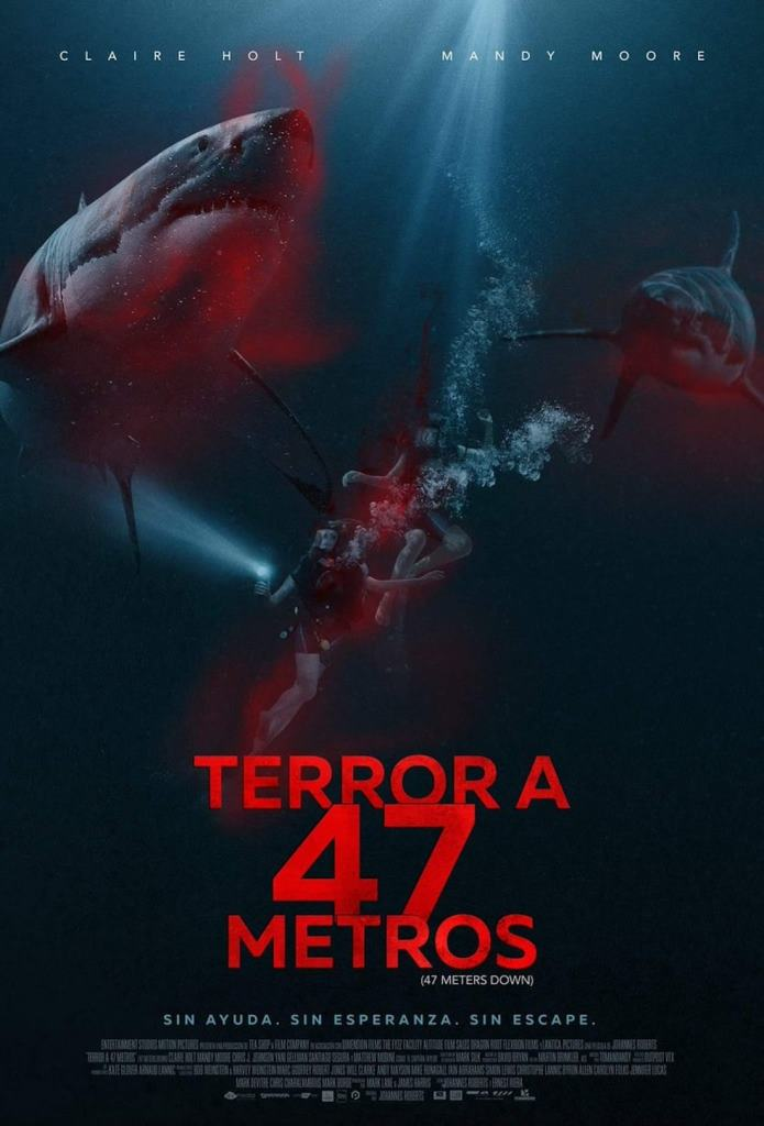 Terror a 47 Metros (2017) HD 1080p Latino