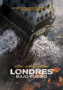 Londres bajo fuego (2016) HD 1080p Latino